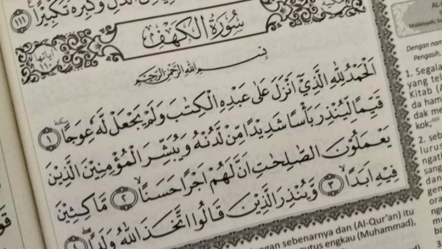 Meraih Fadlilah Surat Al Kahfi Attaubah Institute